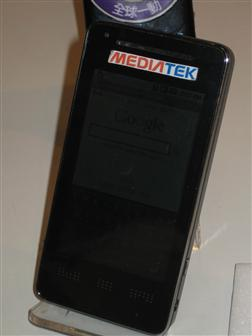 Global Mobile WiMAX phone based on Android and Mediatek platforms