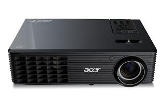 Acer DLP 3D projector - the Acer X1261 projector