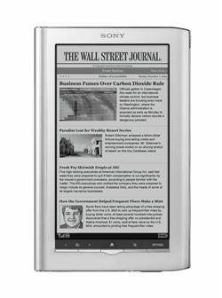 Sony e-book reader, PRS-950 Daily Edition