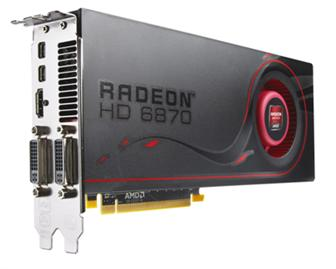 AMD Radeon HD 6870 graphics card