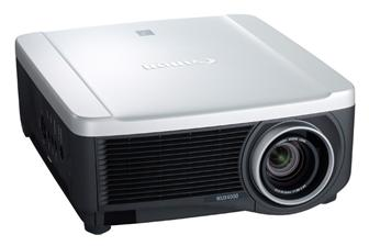 Canon USA LCoS projector, the REALiS WUX4000