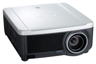 Canon REALiS WUX4000 D Installation LCOS projector