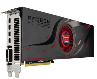 AMD dual-GPU Radeon HD 6990 graphics card