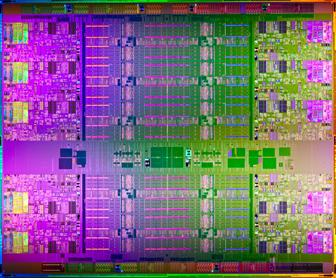 Intel new Xeon E7 server processor die
