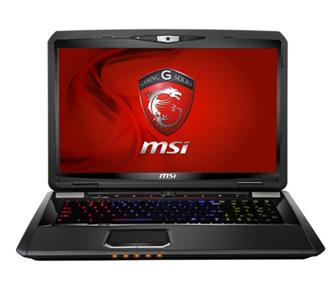 MSI GT780/GT780R gaming notebook