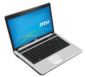 MSI CX480 multimedia notebook