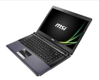 MSI X460DX ultra-slim notebook