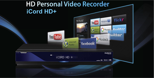 iCord HD /ME, IR-2020HD, powered by Opera's browser technology