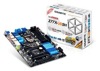 GIGABYTE showcased 7 series motherboards at Cebit 2012