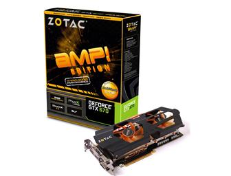 Zotec GeForce GTX 670-based graphics card