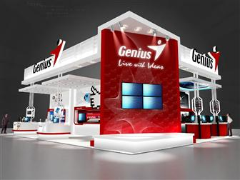 Genius Computex booth