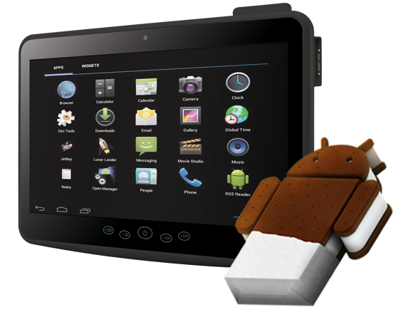 The slim, fanless all-in-one system, powered by an IntelR Atom