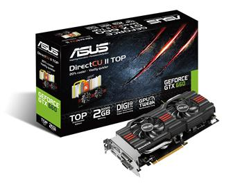 Asustek GeForce GTX 660 graphics card