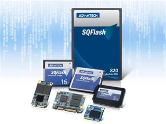 The new SQFlash 820 series are the world��s first industrial grade SATA III solution, making Advantech storage product line more complete.