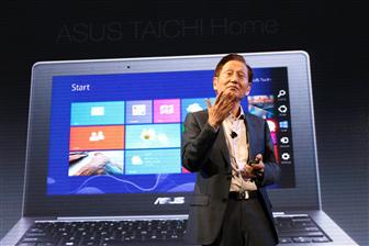 Asustek launches its Windows 8-based products in New York