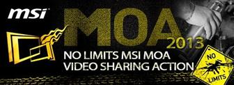 NO LIMITS MSI MOA video sharing action