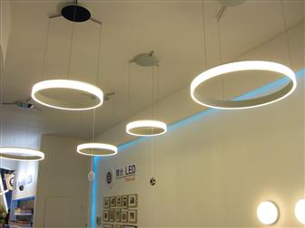led lighting cafe lighting design