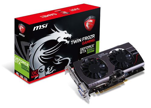 GTX 650 Ti BOOST Twin Frozr