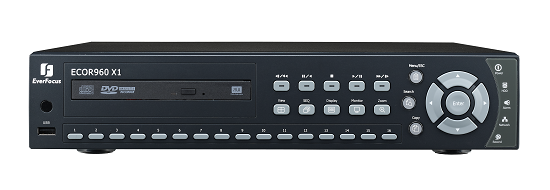 EverFocus launches new ECOR960 X1 16 channel, 120FPS 960H resolution DVR