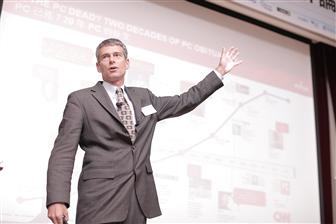Michael Hurlston, executive vice president of worldwide sales for Broadcom