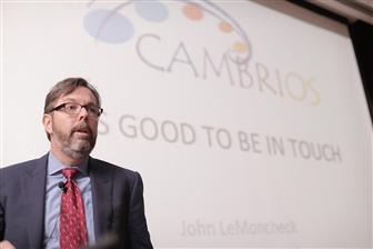 John LeMoncheck, President and CEO of Cambrios Technologies