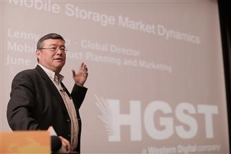Lenny Sharp, Mobile Product Marketing & Planning, Global director of HGST