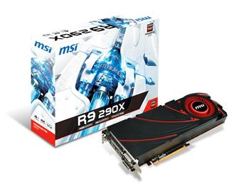 MSI R9 290X graphics card
