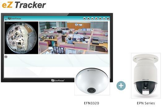 EverFocus debuts a new technology: eZ Tracker