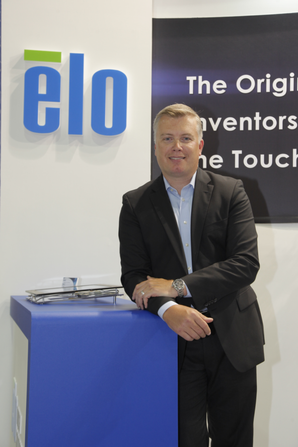 Elo Touch Solutions OEM Business Division Vice President Niklas Fallgren