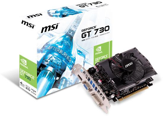 MSI GeForce GT 730