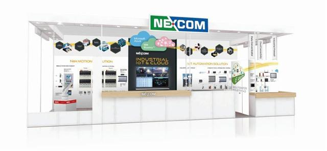 NEXCOM's complete Industry 4.0 solution blueprint seamlessly integrates