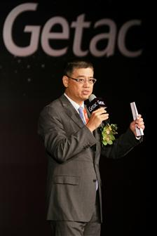 Getac chairman James Hwang is upbeat about Getac rugged computers expanding presence in the automotive market