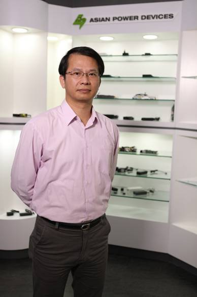 Rax Chuang, general manger, APD's Power System Business Group