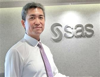Lu Yen-nien, senior business consultant at SAS Institute, greater China Photo: