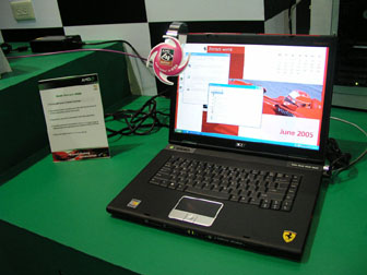 Acer Ferrari 4000 notebook