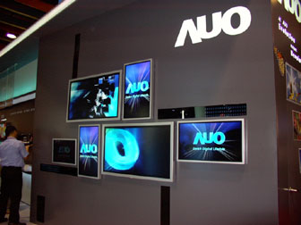 AUO TV wall at FPD Taiwan 2005 (Jun 08-Jun 10)