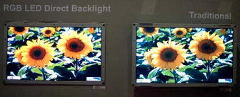 17-inch LCD TV panel with LED backlighting