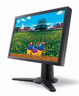 ViewSonic slashed the price on its wide-screen 23-inch model (VW231wb) to NT$59,000 (US$1,881)
