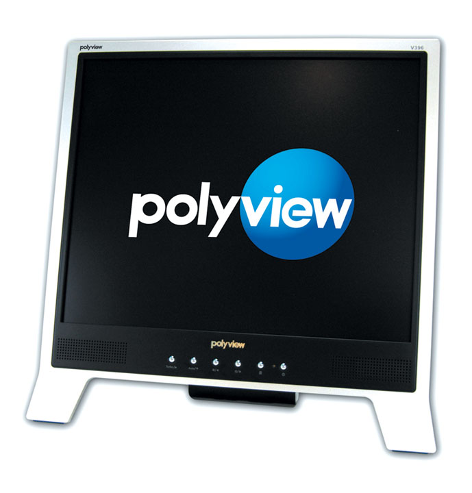 Chi Mei Group is pushing its Polyview-branded monitor at Taipei Computer Applications Show (TCAS)