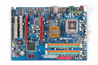 Albatron unveils dual-core motherboard with dual-graphics technology
