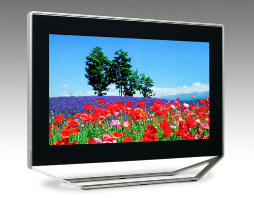 Toshiba introduces a SED TV prototype at IFA 2005 in Berlin