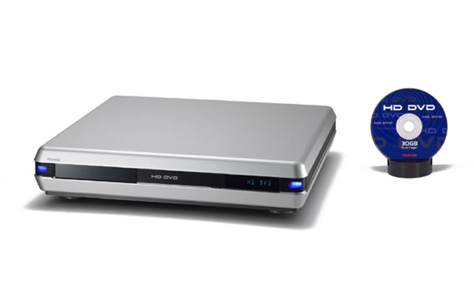 Toshiba introduces a HD DVD player and 30GB DVD at IFA 2005 in Berlin