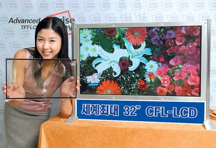 Samsung Electronics unveils color filter-free LCD TV panels