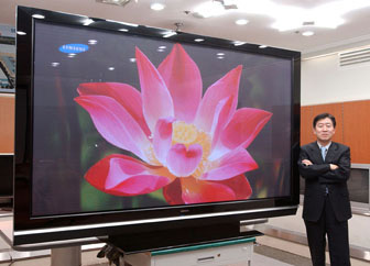 Samsung highlights 102-inch PDP TV at KES
