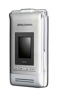 BenQ-Siemens EF81 introduced to Europe and Asian markets