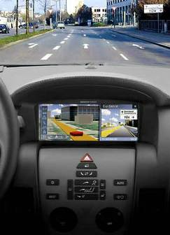 Siemens develops three-dimensional map display navigation system