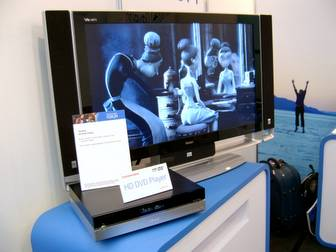 IDF Taiwan: Toshiba showcases a sample HD-DVD player