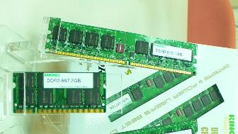 Computex Taipei 2006: Kingmax is showcasing its latest-generation DRAM modules
