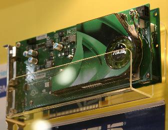 The Asustek EN7950GX2 Nvidia GeForce 7950 GX2-based graphics card