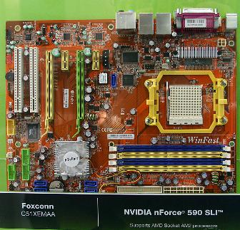Foxconn C51XEMAA AMD AM2 motherboard